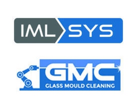 A picture of the GMC and IML-SYS logos with no box boundary.