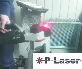 p laser